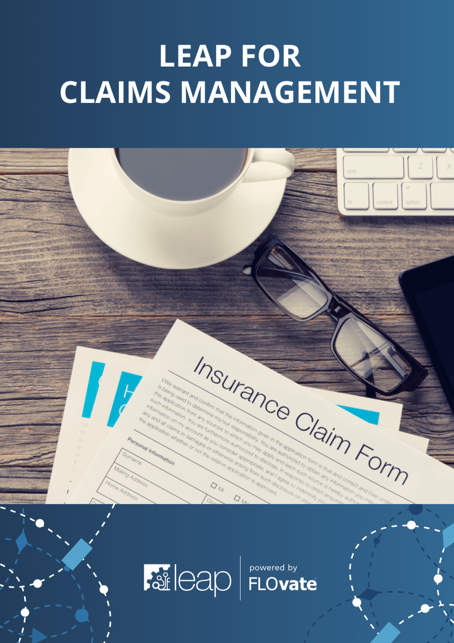 LEAP for Claims Management brochure cover