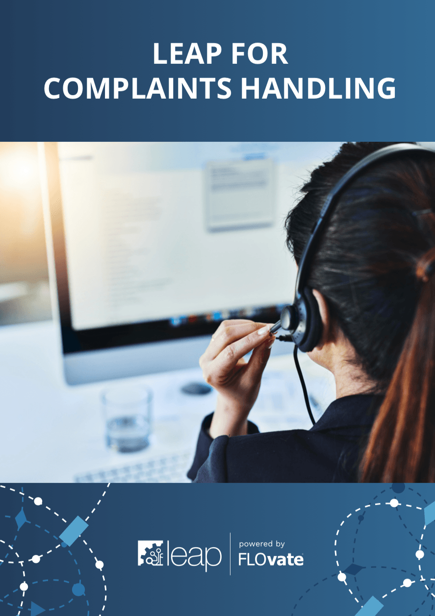 LEAP for Complaints Handling brochure cover