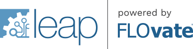 LEAP powered by FLOvate logo