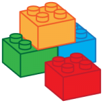 Building blocks icon